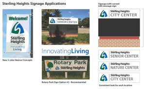 City of Sterling Heights: preview of updated city signage