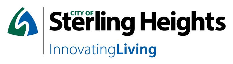 Sterling Heights signature:  Horizontal orientation