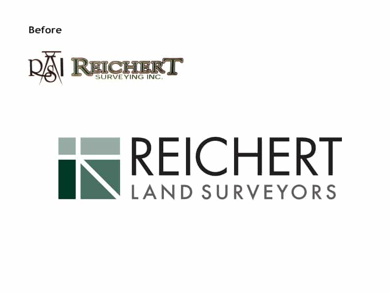 Reichert Surveying Before & After